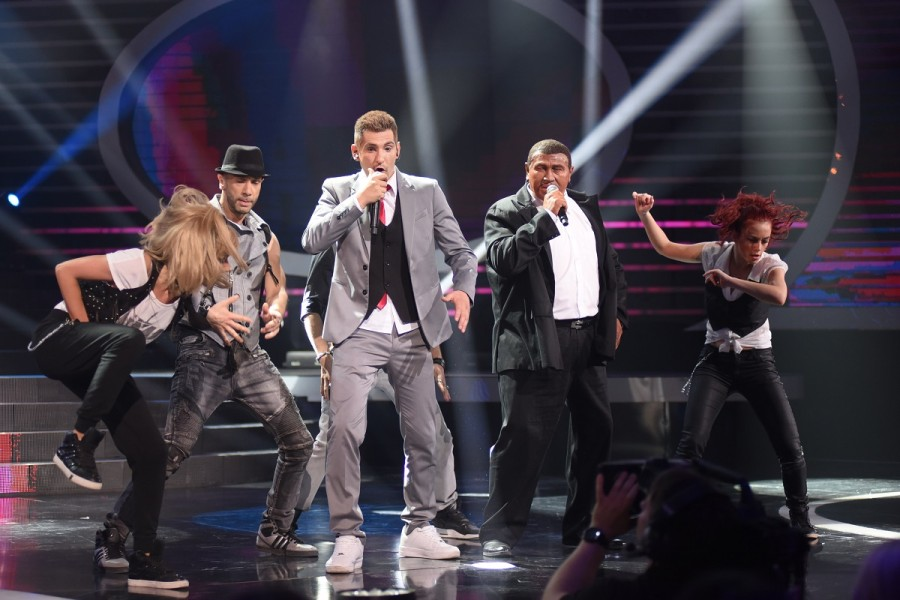 Neša i Halid kao Justin Timberlake i Timbaland / foto: prva tv
